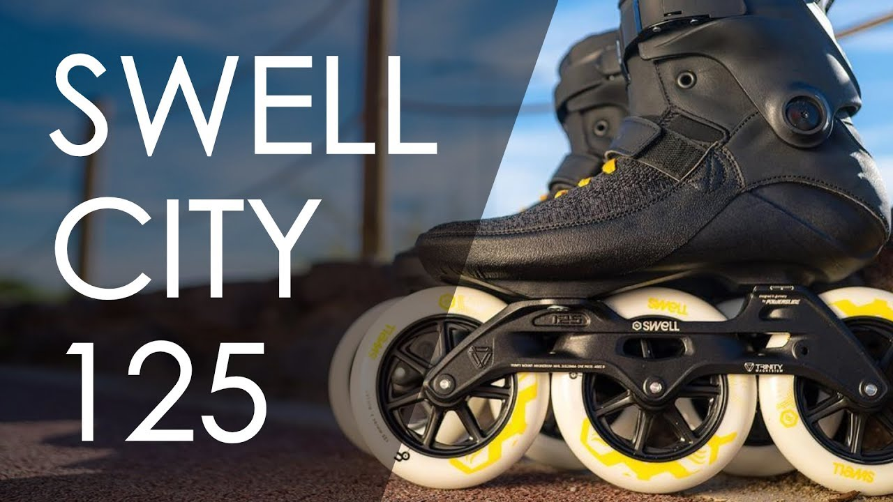 d4b5d03e678 UNBOXING THE NEW POWERSLIDE SWELL TRINITY 125 CITY FROM THE 2018 INLINE  SKATES LINE// VLOG 168