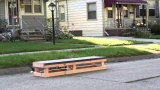Skateboard Grind Box Video