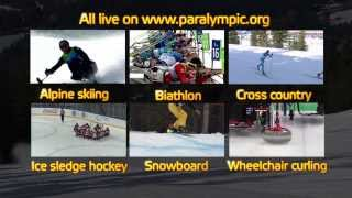 Watch The Sochi 2014 Paralympic Winter Games Live
