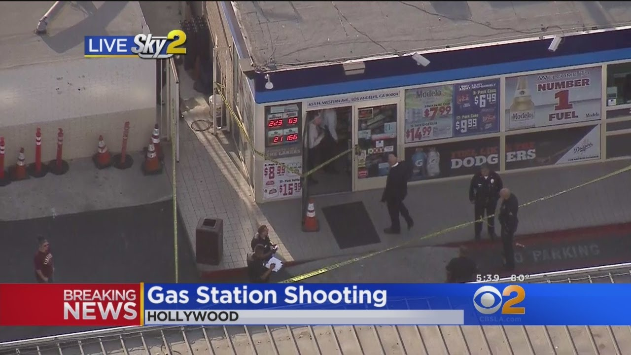 Arco Gas Station >> Man Wounded In Shooting At Arco Gas Station In Hollywood