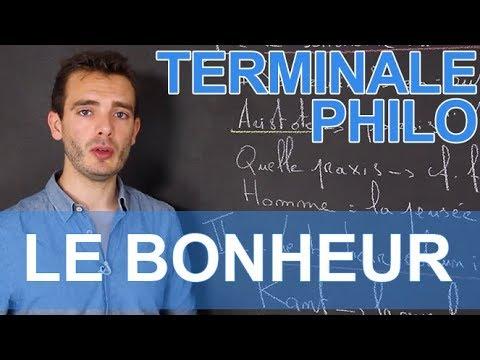 Le Bonheur - Philosophie - Terminale - Les Bons Profs