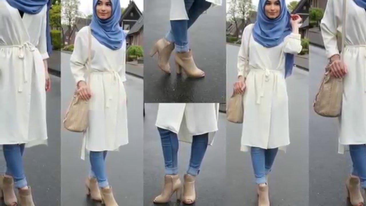Casual Hijab Fashion Style 2016 Part 2 Casual Hijab Outfits Youtube