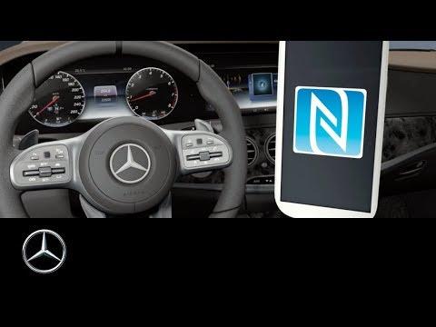 Mercedes-Benz: S-Class – Wireless charging and NFC setup