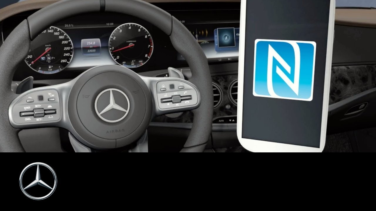 Mercedes Benz S Class Wireless Charging And Nfc Setup Youtube Mercedesbenz Genuine Engine Wiring Harness 2711502933