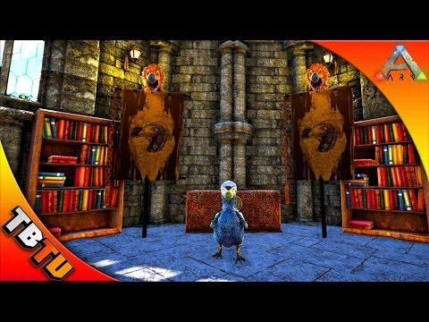 ARK CASTLE CHURCH BUILD! PRAISE TO THE DODO GOD! Ark Survival Evolved Castle Build - The Church