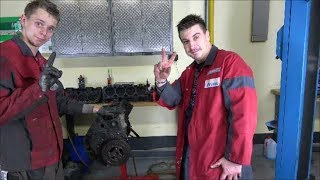 Lagerschaden Motorschaden Ursache V8 Live zerlegt (kein Autogas)