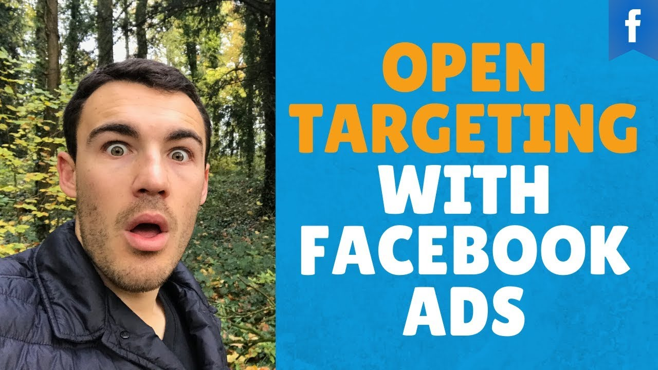 OPEN TARGETING with Facebook Ads?!