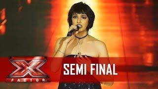 Jenni emociona interpretando Me Espera | X Factor BR
