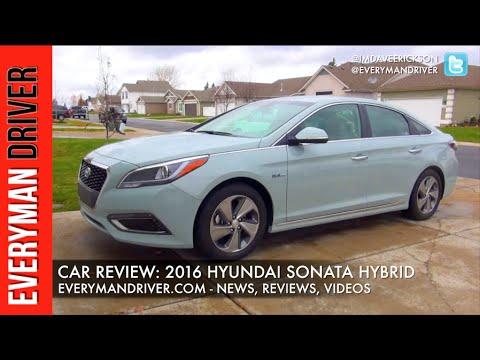 Here's the 2016 Hyundai Sonata Hybrid on Everyman Driver