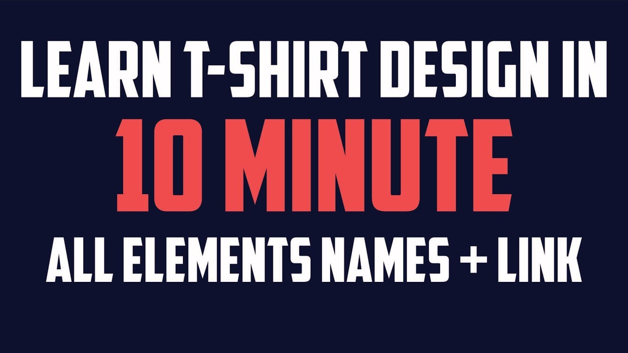 Learn T Shirt Design In 10 Minute Teespring Auto Sell