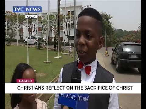 Christians in Abuja reflect on the sacrifice of Christ