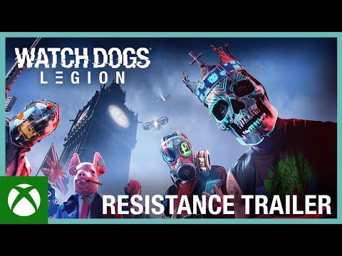 Watch Dogs: Legion: Resistance Trailer | Ubisoft [NA]