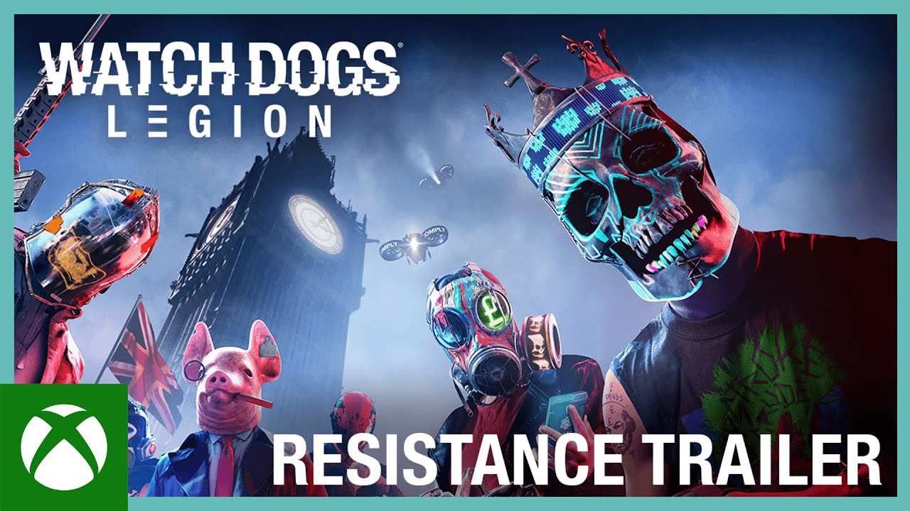 Watch Dogs: Legion: Resistance Trailer