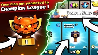 NEW WAR LEAGUES! NEW TORNADO TRAP! NEW HAMMER MAGICAL ITEMS! - Clash Of Clans