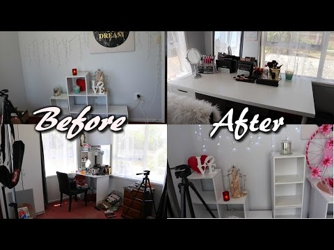 Realistic Beauty Room Tour & Makeup collection | DANNI SHERIDAN