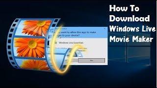 видео Скачать Windows Movie Maker бесплатно на компьютер Windows 7, 8, 10