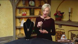 EWTN Religious Catalogue - 2017-11-27 - Fatima Pink Pearl Necklace