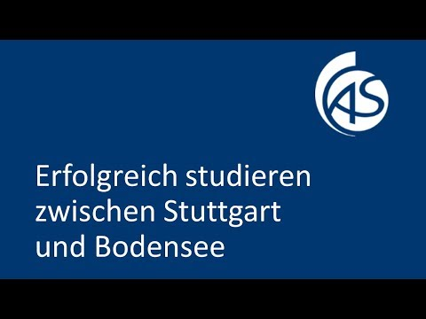 Imagefilm 1 - Hochschule Albstadt-Sigmaringen