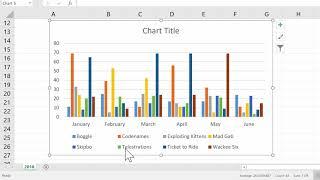 Excel Simple et Rapide des Graphiques Tutoriel 2018