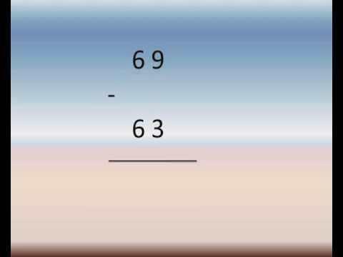primary 1 math lessons second term subtracting up to 99 شرح رياضيات لغات اولى ابتدائى