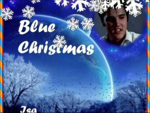 blue christmas elvis presley cover