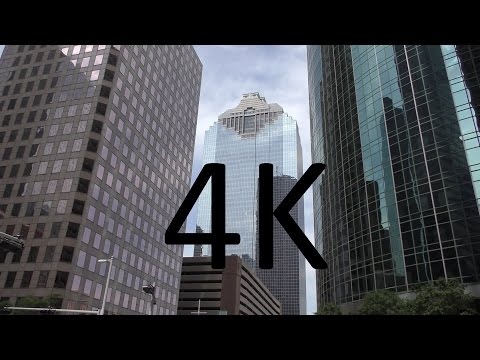 A 4K Video Tour of Downtown Houston