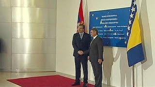 Bosna Hersek ile Sırbistan'dan ilk kez ortak bakanlar kurulu