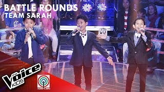 Vanjoss, Jay Rome, & Renz - Anytime You Need A Friend | Battle Rounds | The Voice Kids Philippines