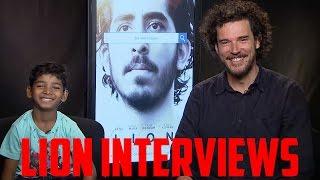Lion Interviews - Garth Davis and Sunny Pawar