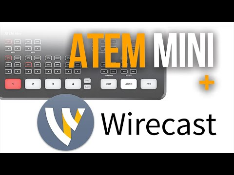 How I Finally Got The Atem Mini To Work With Wirecast Youtube