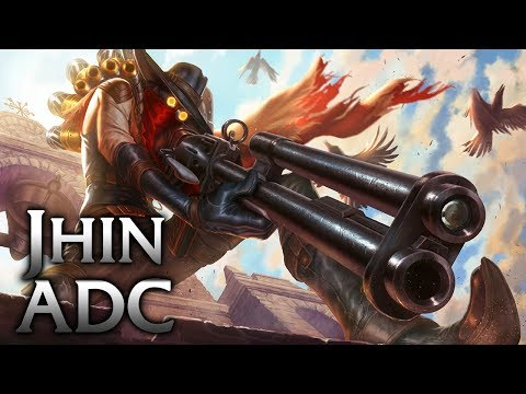 High Noon Jhin ADC - League of Legends Commentary