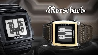 Kisai Rorschach ePaper Watch Design from Tokyoflash Japan