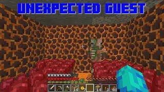 Minecraft Hardcore Survival - Unexpected Guest (65)