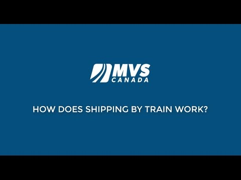 How Does Car Shipping By Train Work?