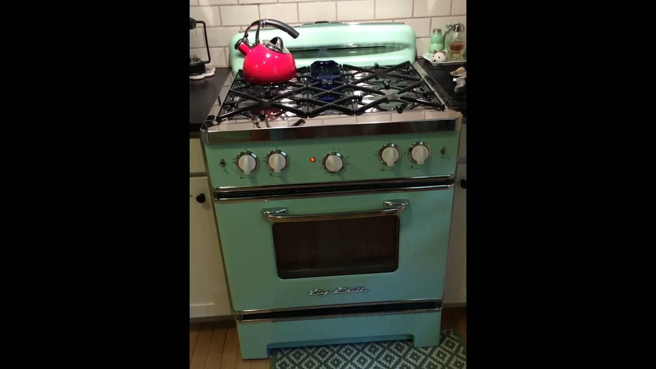 Big chill stove problem