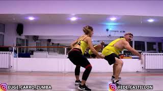 QUE PENA - Maluma J.Balvin - Baila en casa con Euge - Fitness dance