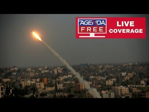 Gaza Rocket Attacks on Israel & Israeli Airstrikes - LIVE COVERAGE