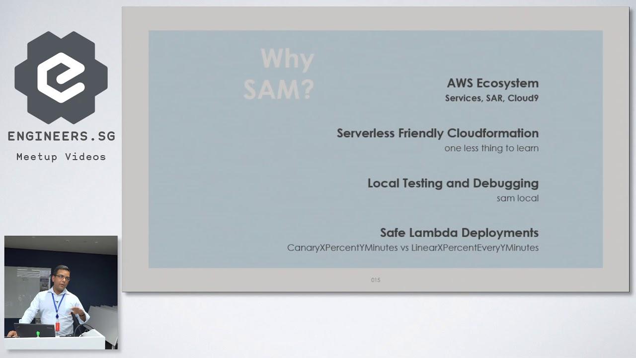 Beginning Serverless Applications with AWS SAM framework - AWS User Group  Singapore
