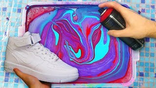 HYDRO Dipping AIR FORCE 1's! - 3