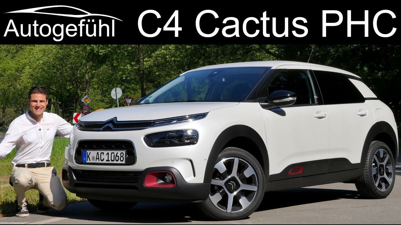 citroen c4 cactus facelift full review driving the new phc hydraulic suspension 2019. Black Bedroom Furniture Sets. Home Design Ideas