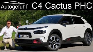 Citroen C4 Cactus Facelift FULL REVIEW - driving the new PHC Hydraulic suspension 2019 - Autogefühl