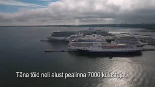 Droonivideo: Kruiisilaevad Tallinnas