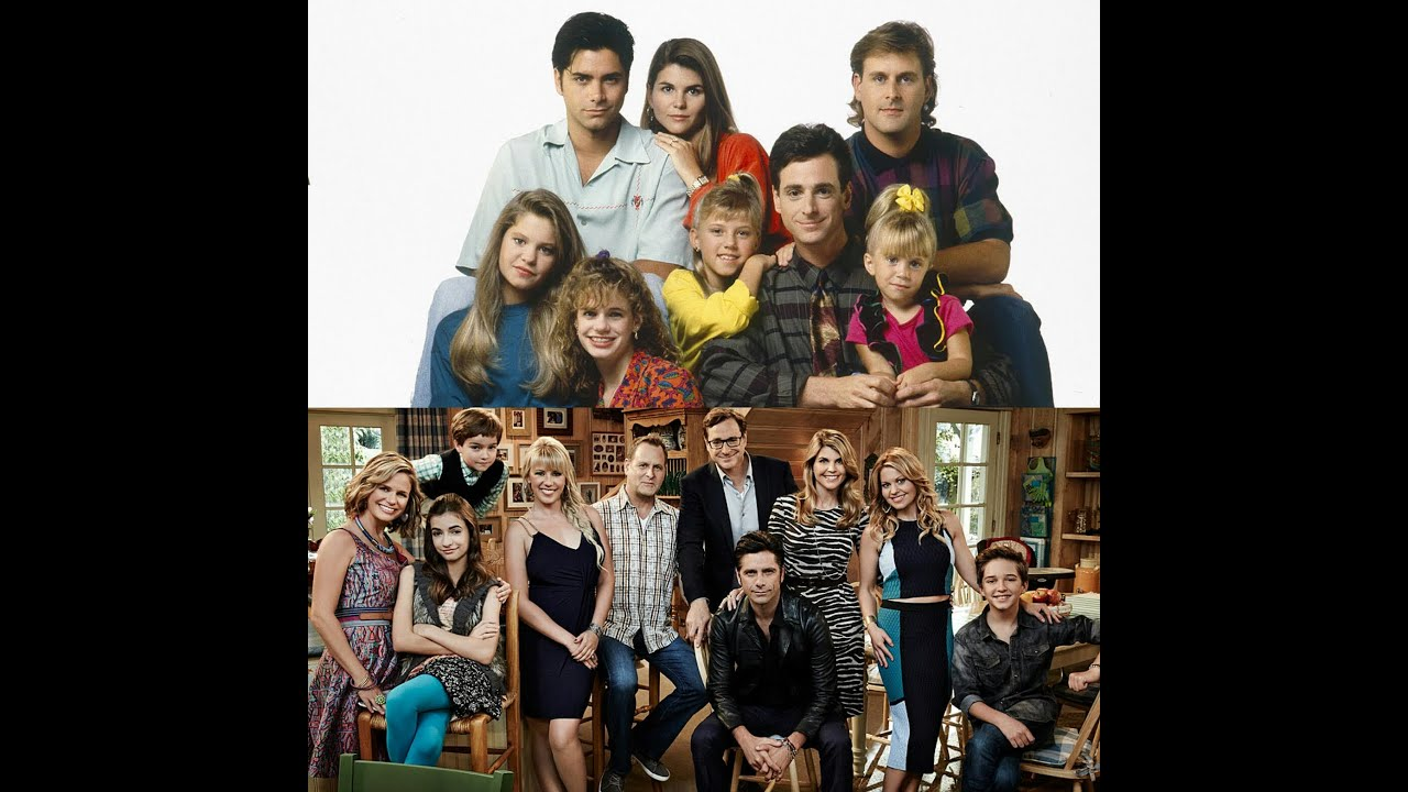 Full house vs Fuller house