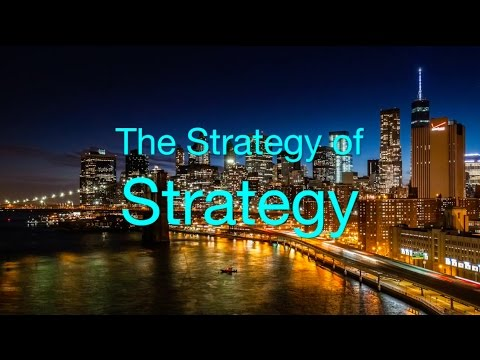 The Strategy of Strategy with speaker Mark A. Pfister