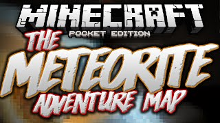 SAVING THE EARTH!!!! - The Meteorite Puzzle Adventure Map - Minecraft PE (Pocket Edition)