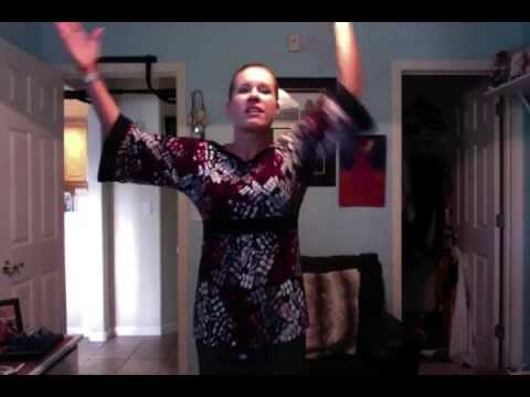 turn it up worship song dance moves