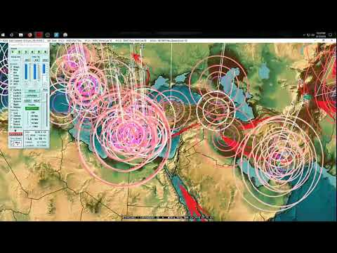 3/12/2018 -- Earthquake activity across Pacific -- West Coast USA plate pressure transfer explained