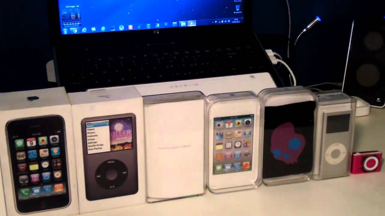 All My Apple Products - YouTube