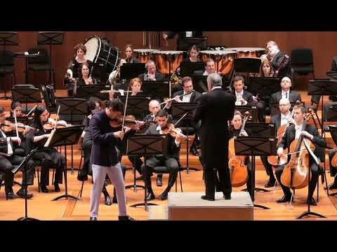 Charlie Siem with Israel Philharmonic Orchestra & Zubin Mehta   Bruch Violin Concerto 3rd Mov
