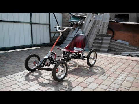 homemade-4-wheeled-bike,-super-pedal-go-kart,-pedal-powered-quad-bikes-for-children.-part-2